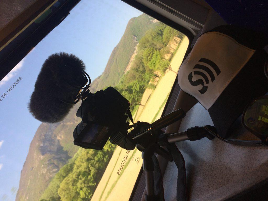Bagage à main Seychelles 2017 train